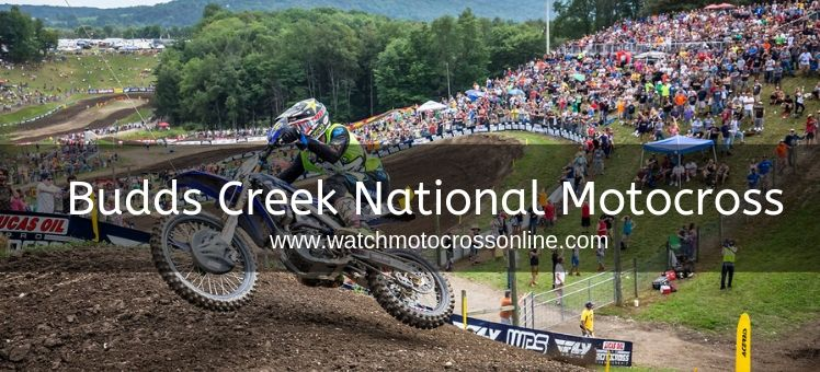Budds Creek National Motocross Live Stream