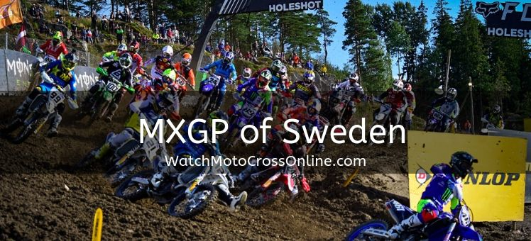 MXGP of Sweden Live Stream