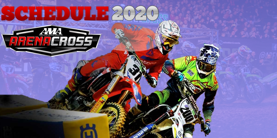 AMA Arenacross Schedule 2020 Date Venue Broadcaster and Live Stream