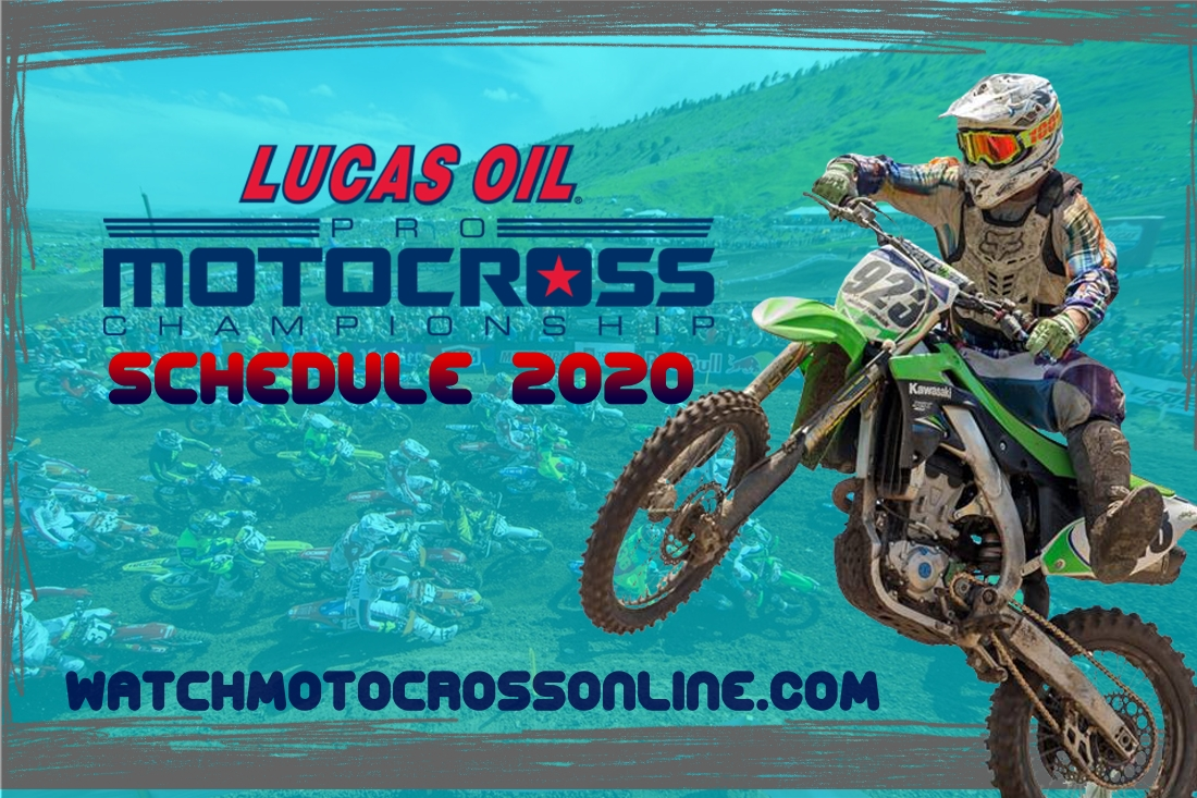 AMA Motocross Schedule 2020 Date Venue TV Channel and Live Stream