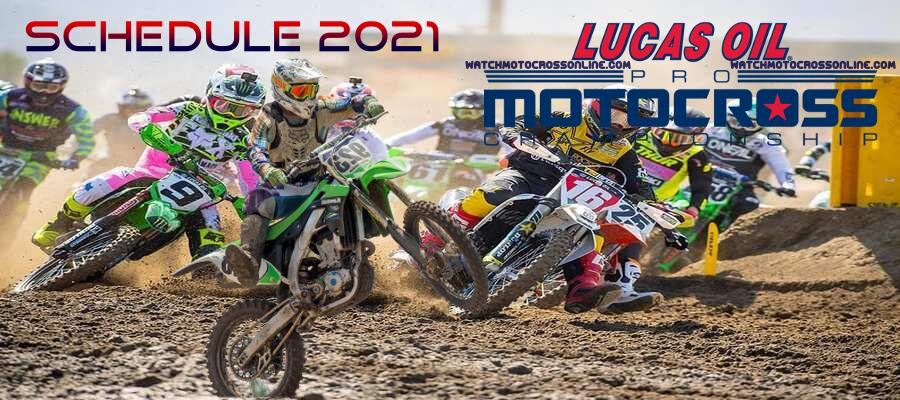 Motocross Schedule 2021 Live Stream