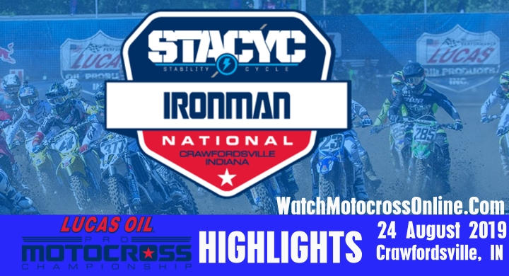Round 12 Ironman Pro Motocross Highlights 2019