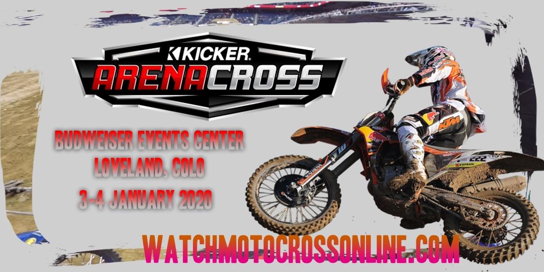 Kicker Arenacross Budweiser 2020 Live Stream