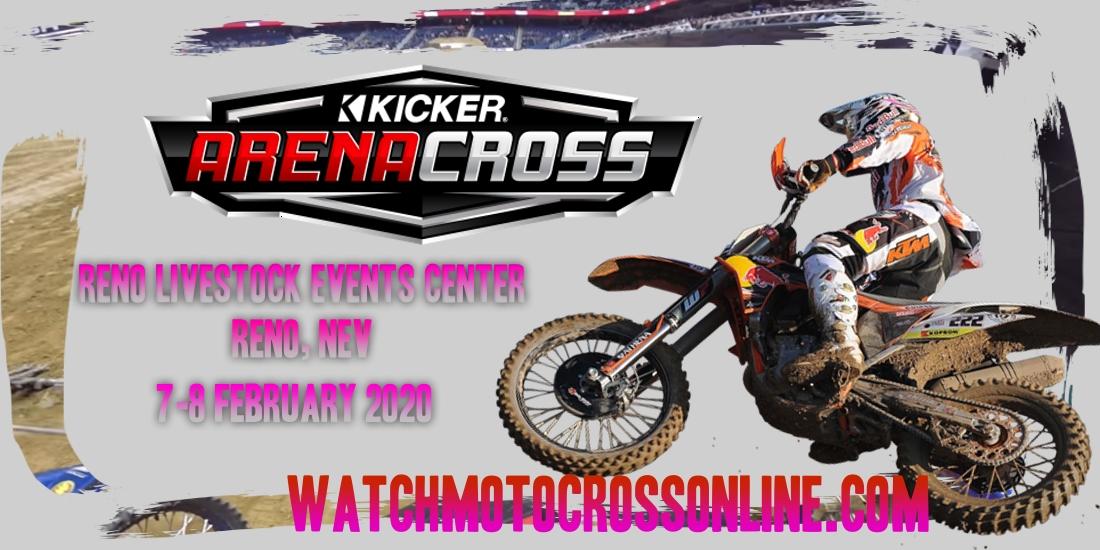 Kicker Arenacross Reno Livestock 2020 Live Stream