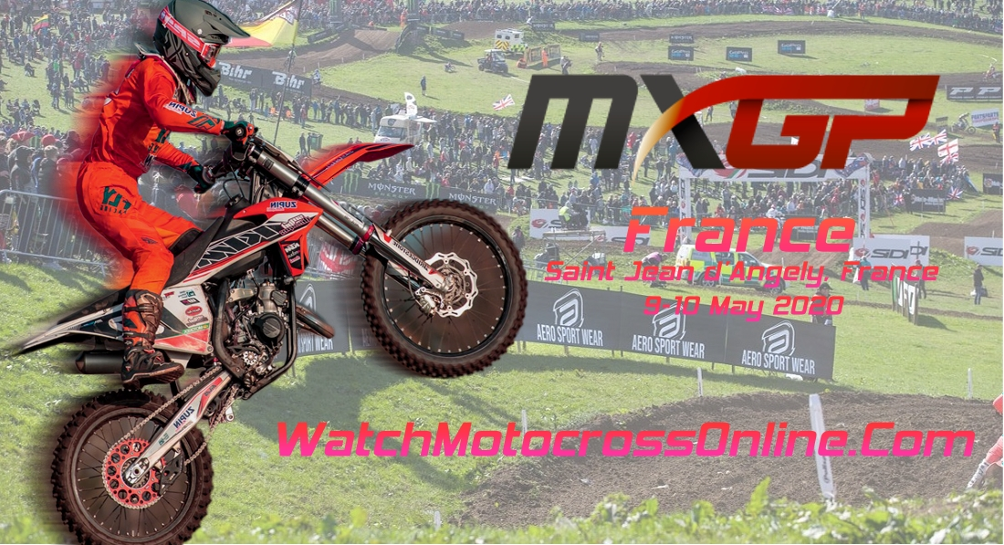 MXGP of France 2020 Live Stream