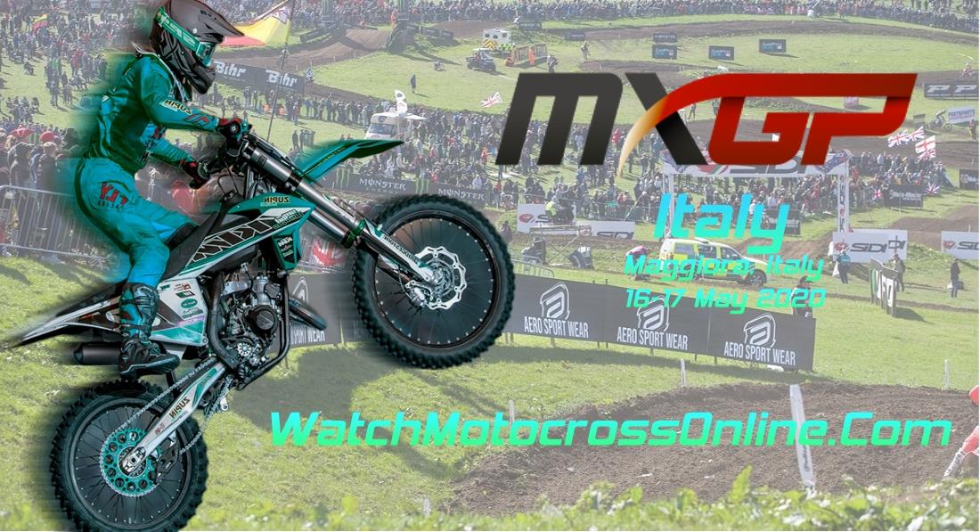 MXGP of Italy 2020 Live Stream