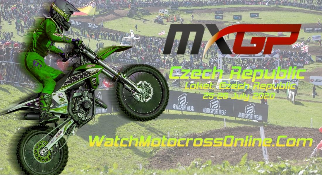 MXGP of Czech Republic 2020 Live Stream