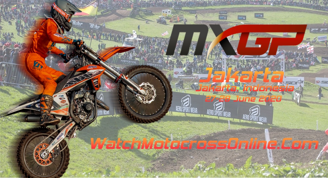 MXGP of Jakarta 2020 Live Stream