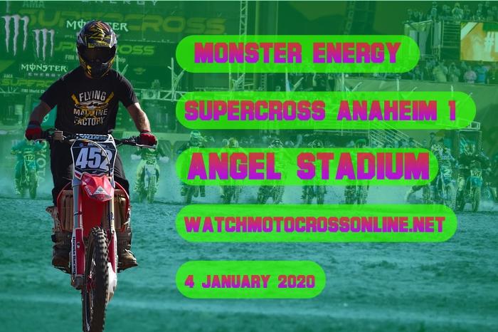 AMA Supercross Anaheim 1 Live Stream 2020 | Full Race Replay