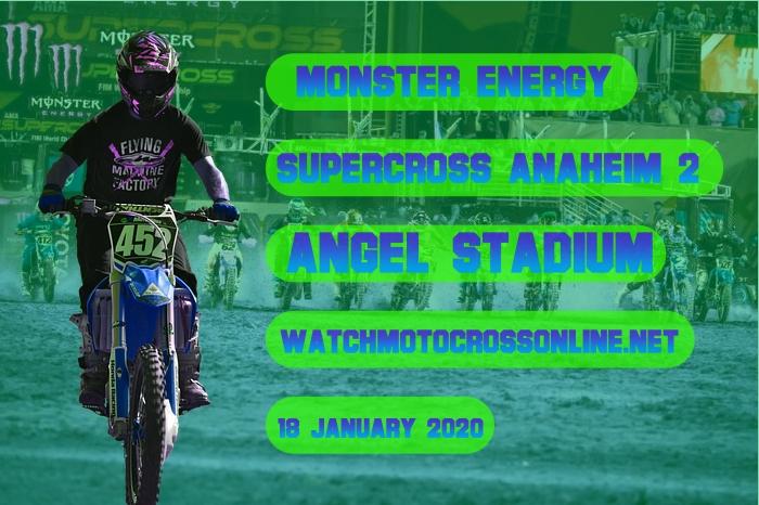 AMA Supercross Anaheim 2 Live Stream 2020 | Full Race Replay