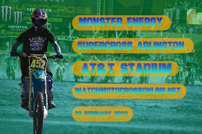 AMA Supercross Arlington Live Stream 2020 | Full Race Replay