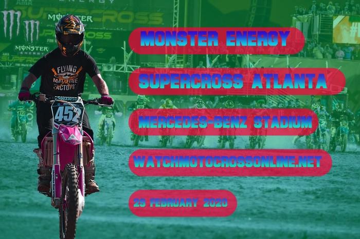 AMA Supercross Atlanta Live Stream 2020 | Full Race Replay