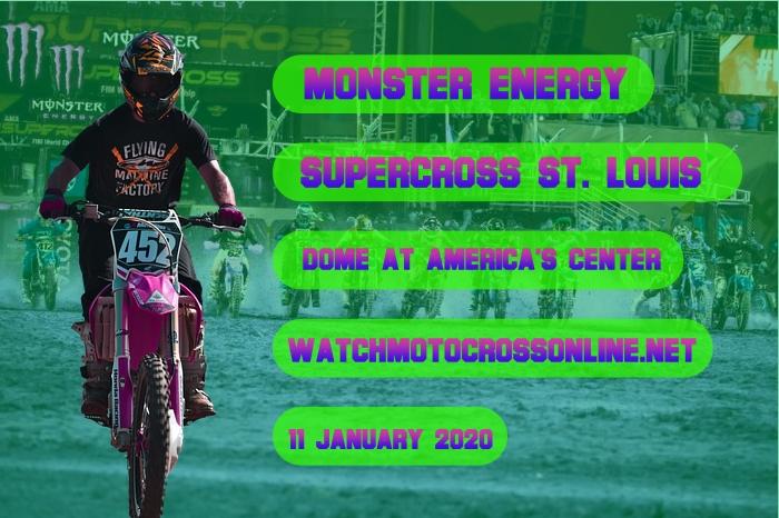 AMA Supercross St. Louis Live Stream 2020 | Full Race Replay