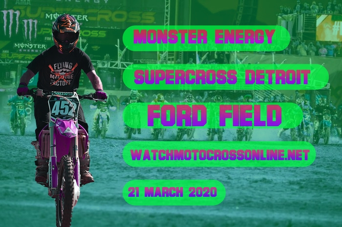 AMA Supercross Detroit Live Stream 2020 | Full Race Replay