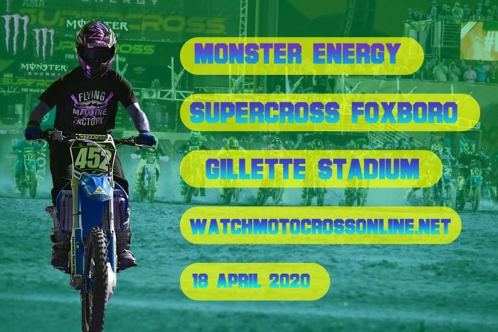 AMA Supercross Foxboro Live Stream 2020 | Full Race Replay