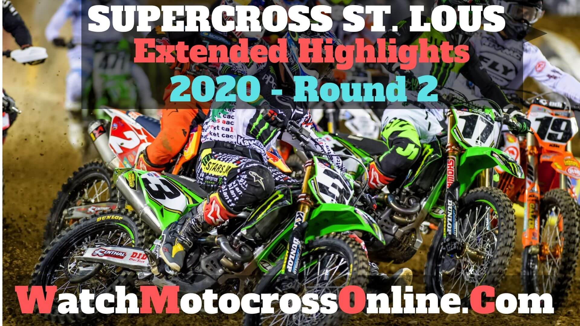 St Louis AMA Supercross 2020 Extended Highlights