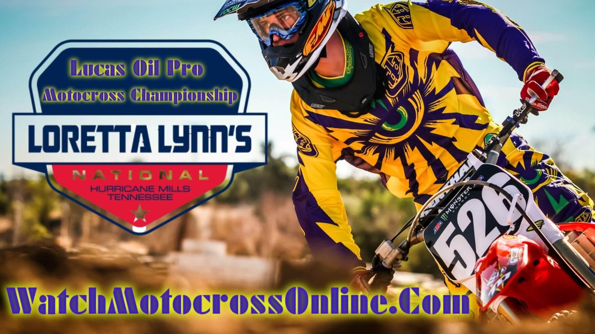 Loretta Lynn National : Pro Motocross Live Stream - 2020 - Video On Demand