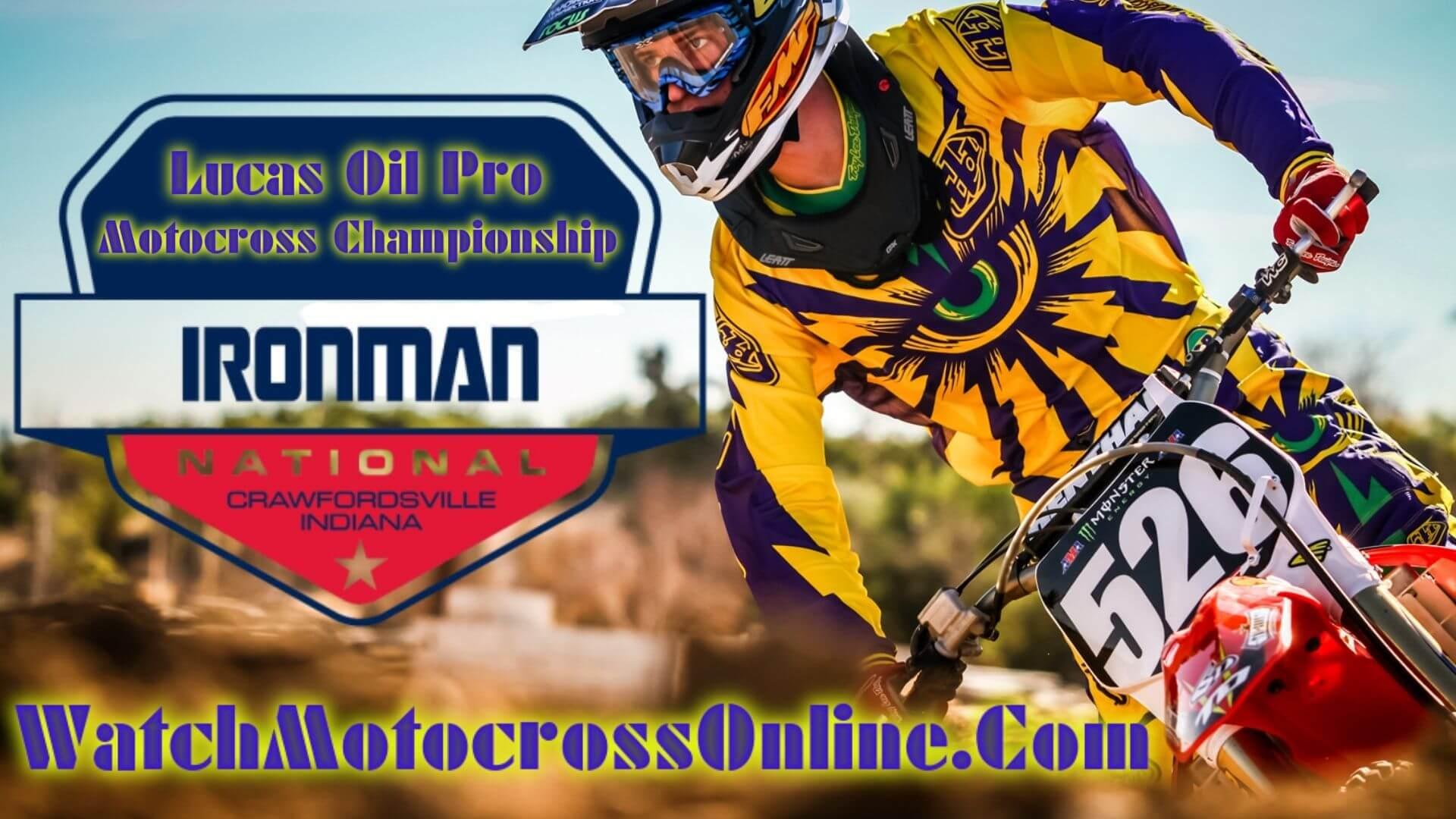 Ironman : Pro Motocross Live Stream - 2020 - Video On Demand