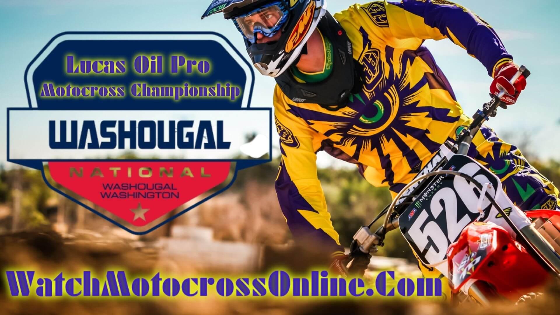 Washougal : Pro Motocross Live Stream - 2020 - Video On Demand
