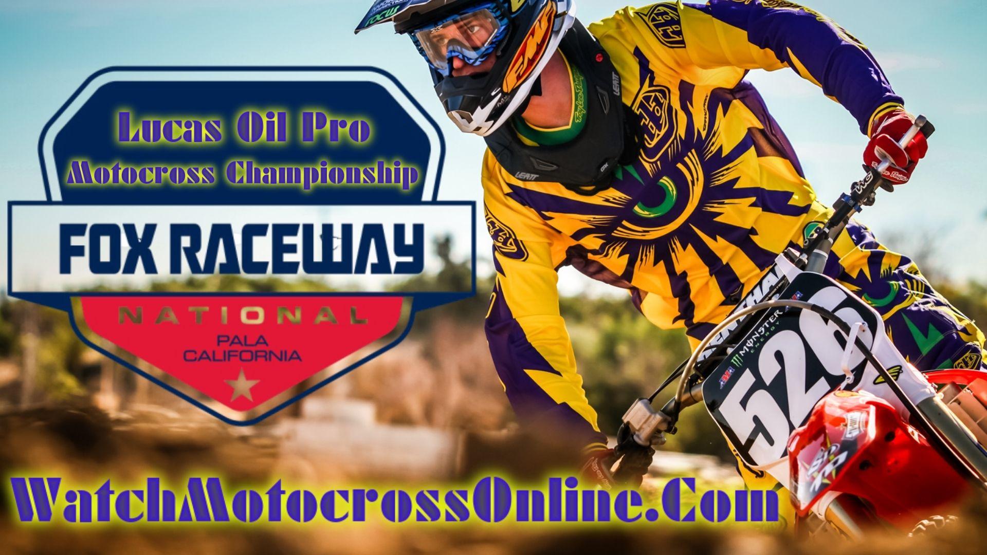 Pala : Pro Motocross Live Stream - 2020 - Video On Demand