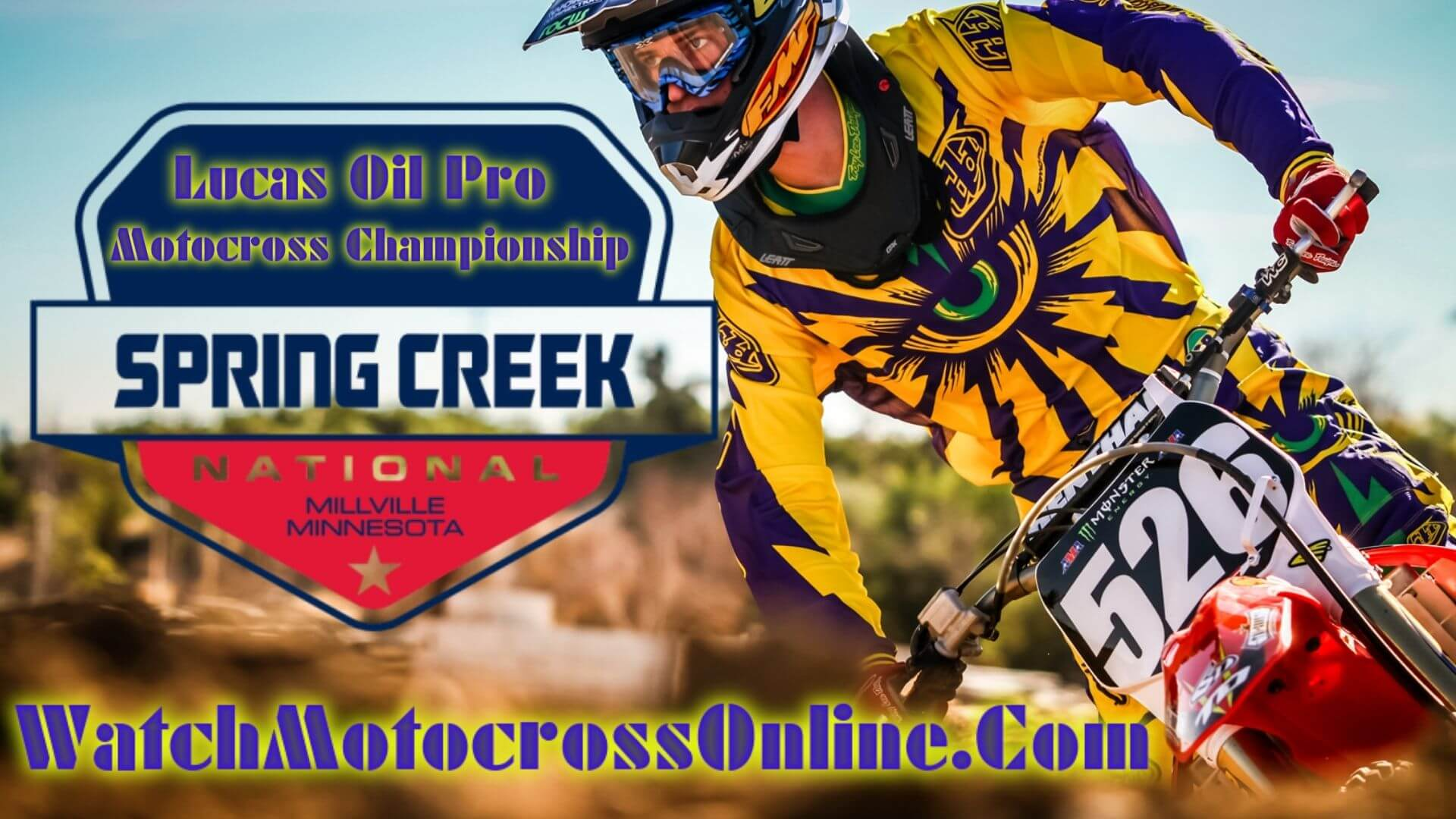 Spring Creek : Pro Motocross Live Stream - 2020 - Video On Demand