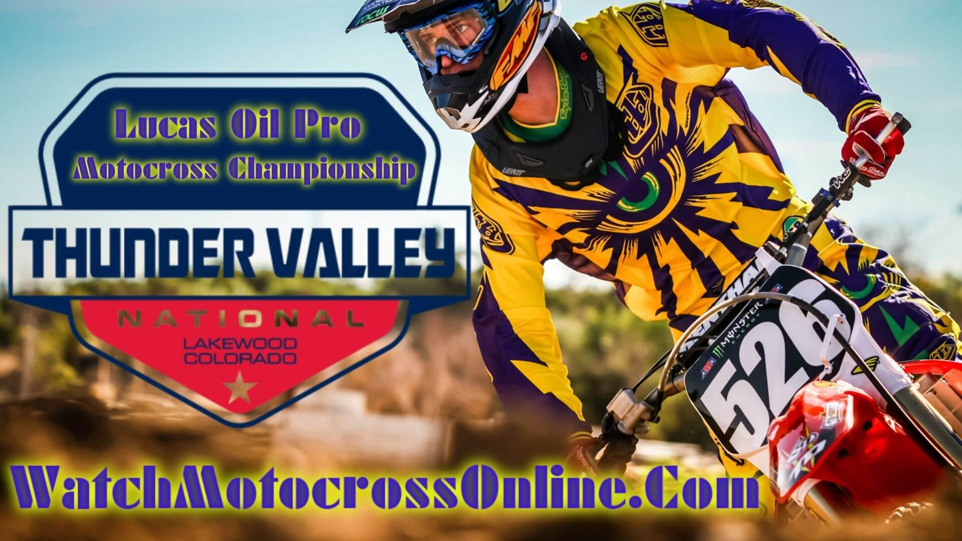 Thunder Valley : Pro Motocross Live Stream - 2020 - Video On Demand