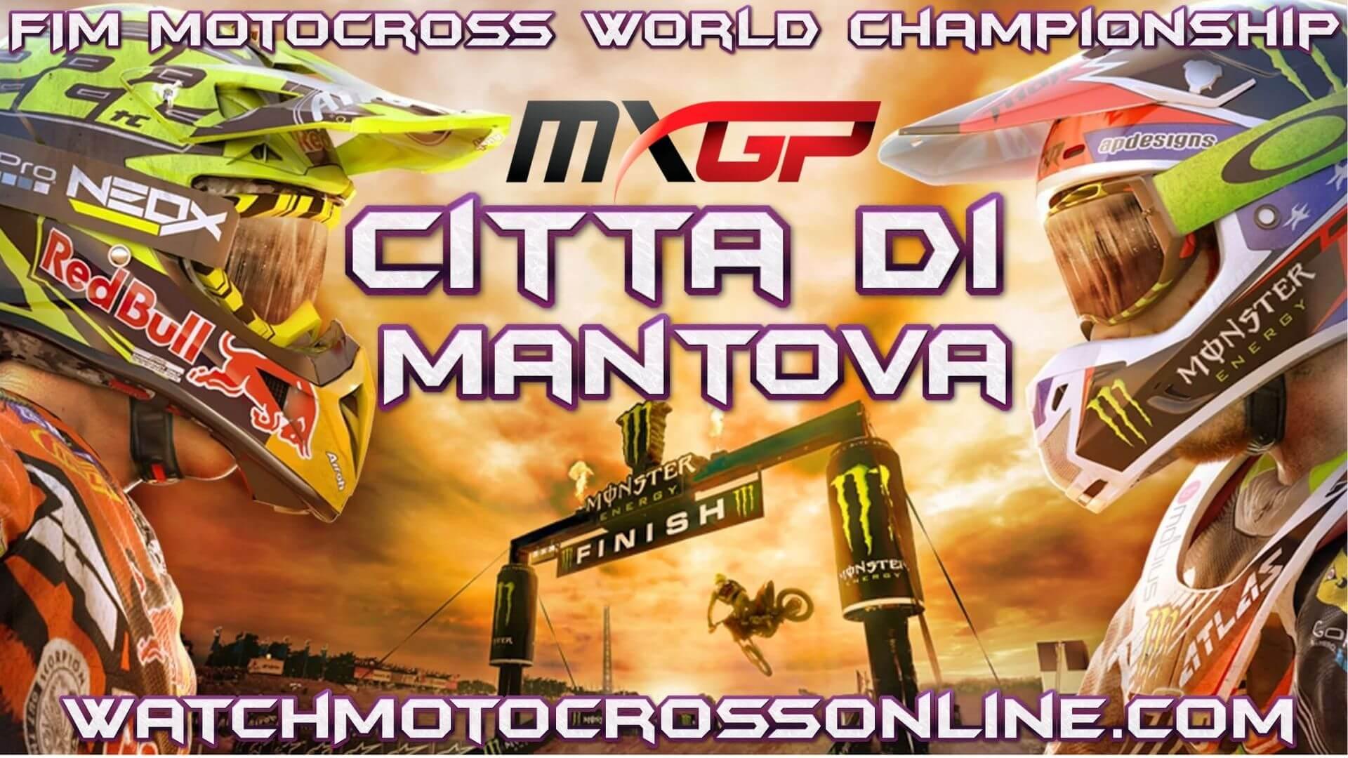 MXGP Of Citta Di Mantova Live Stream 2020