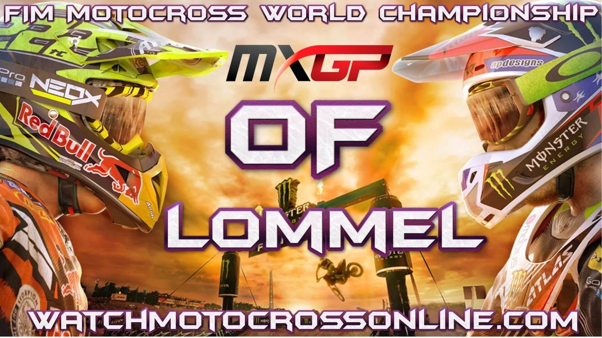 MXGP Of Lommel Live Stream 2020