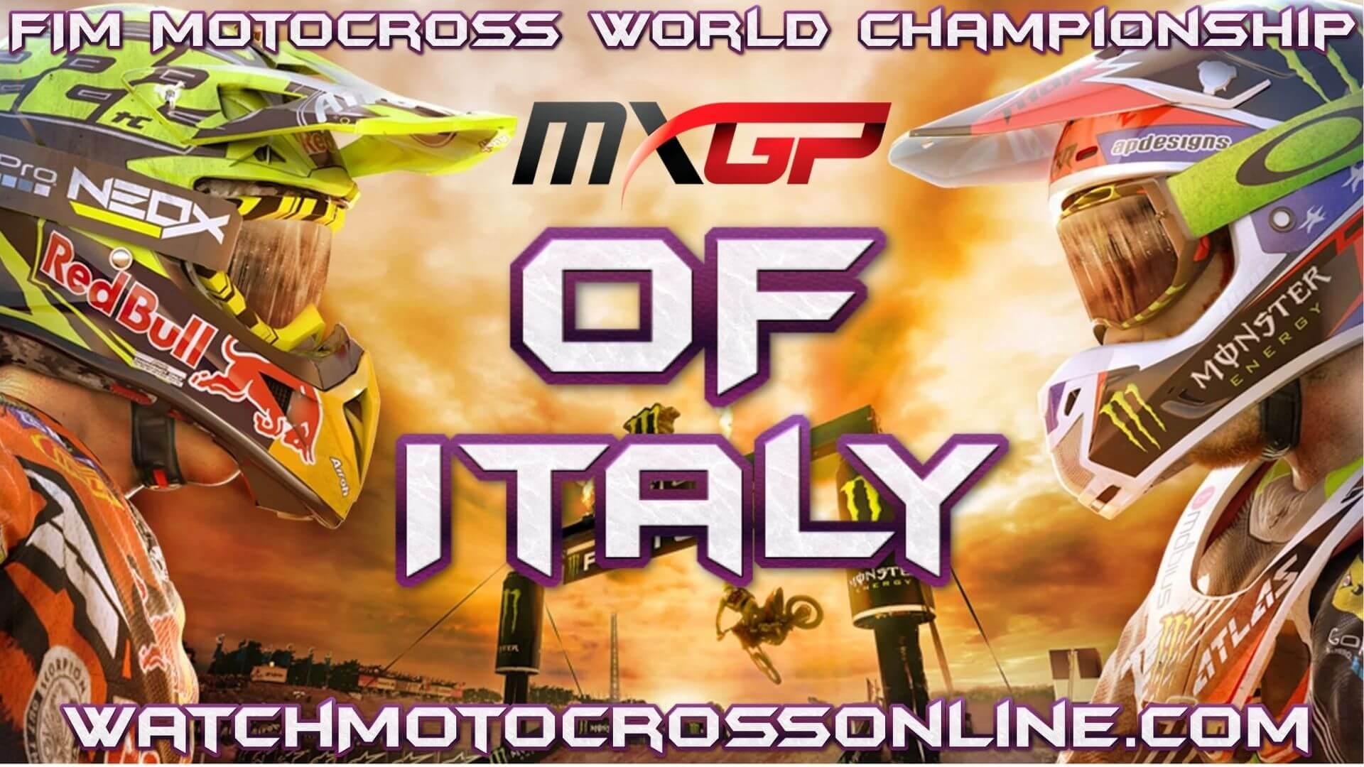 MXGP of Italy Live Stream 2020