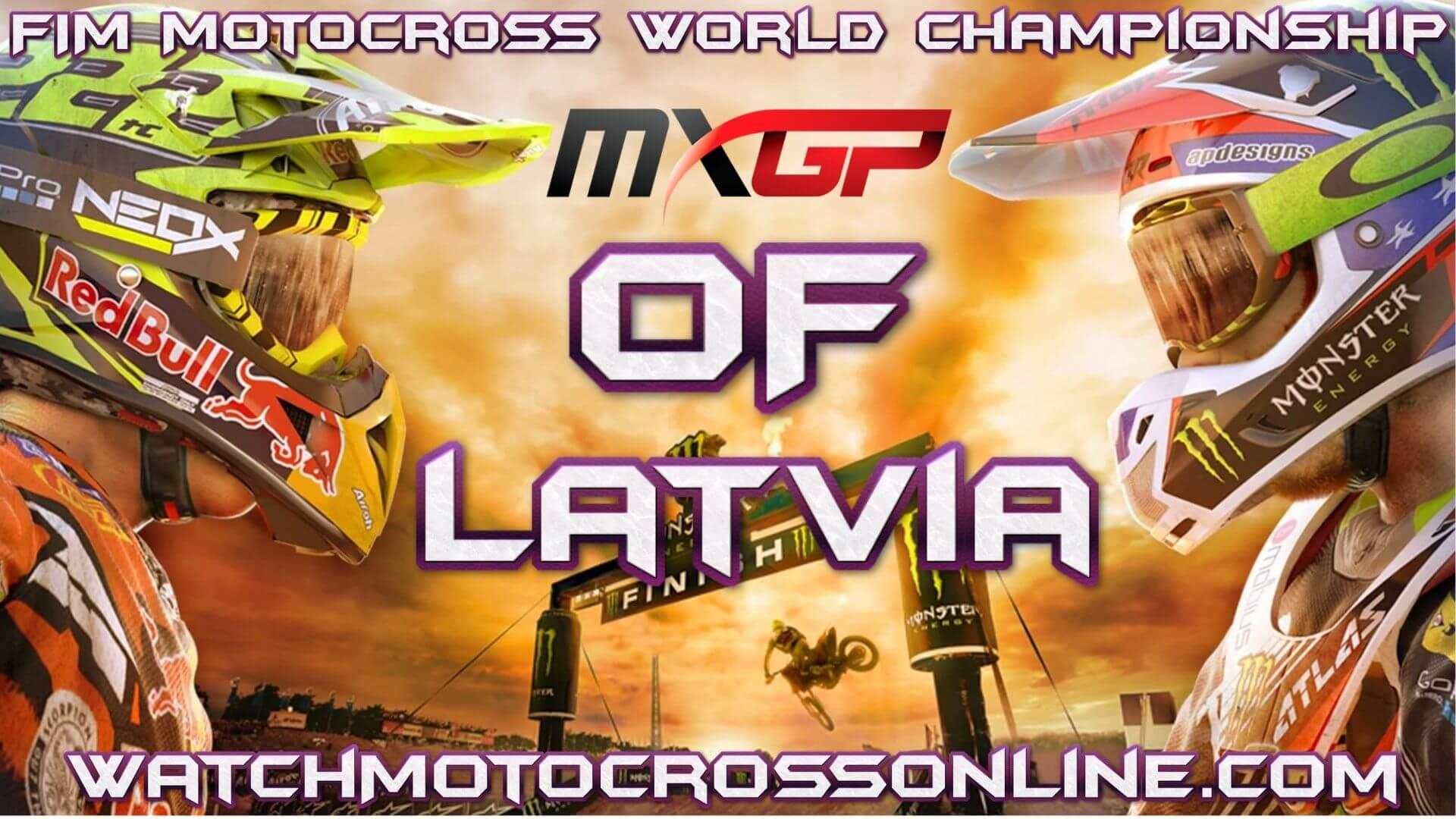 MXGP of Latvia Live Stream 2020