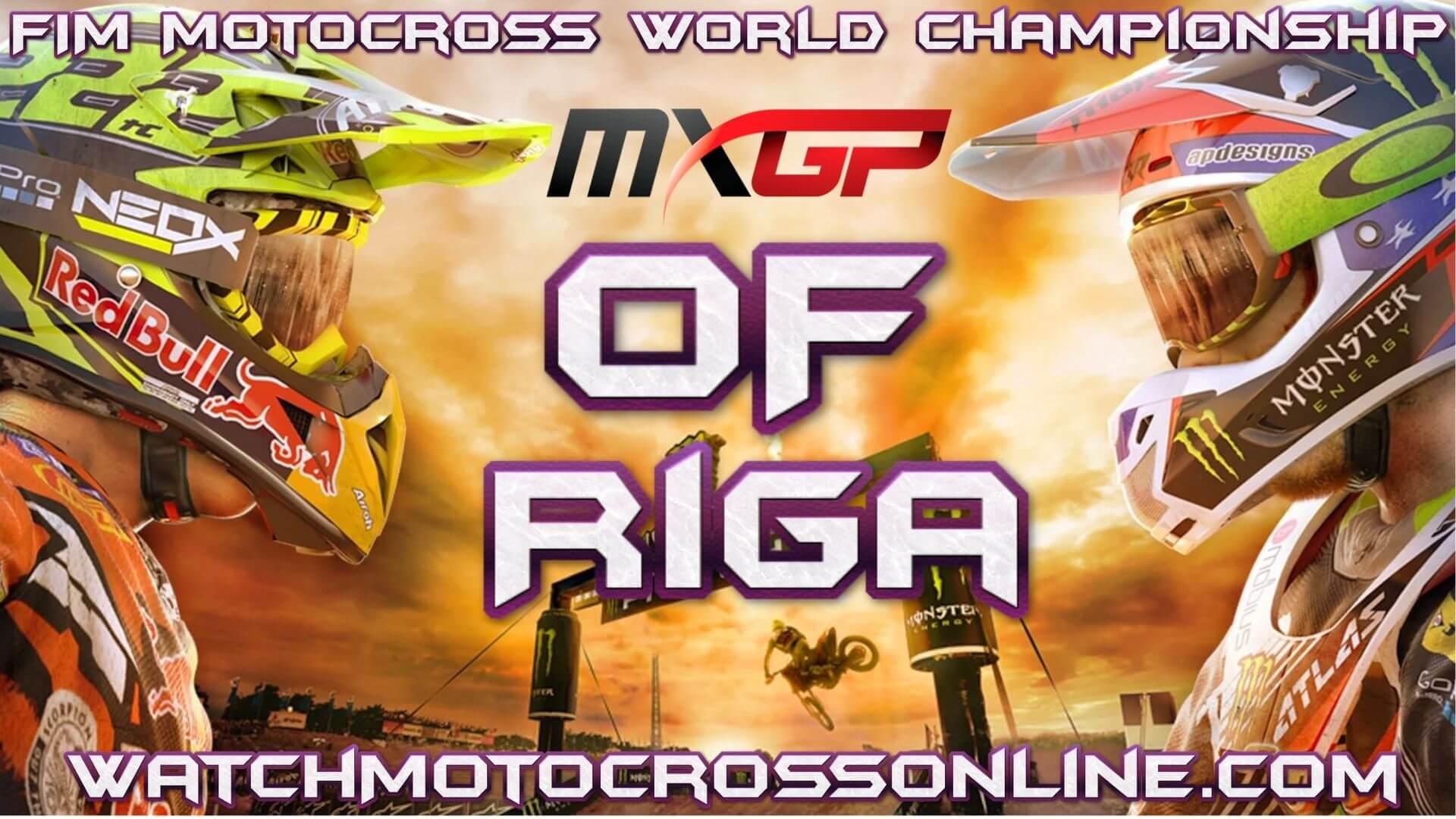 MXGP of Riga Live Stream 2020