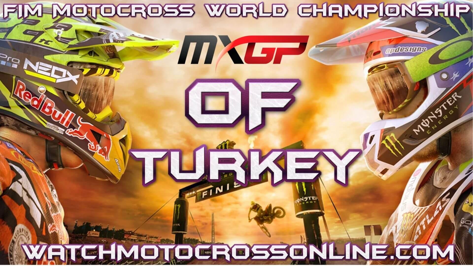 MXGP of Turkey Live Stream 2020