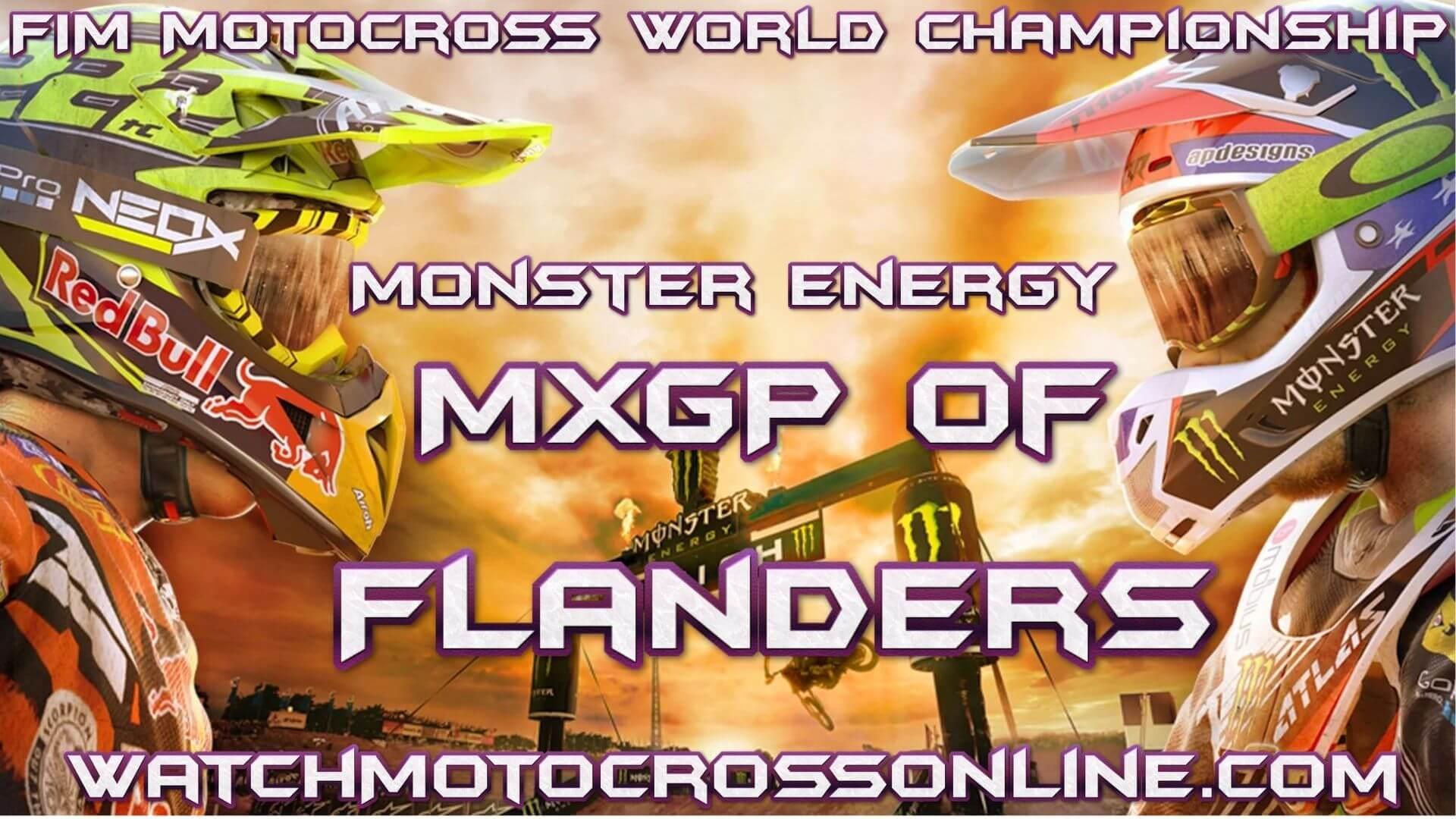 Monster Energy MXGP Of Flanders Live Stream   Lommel 2020