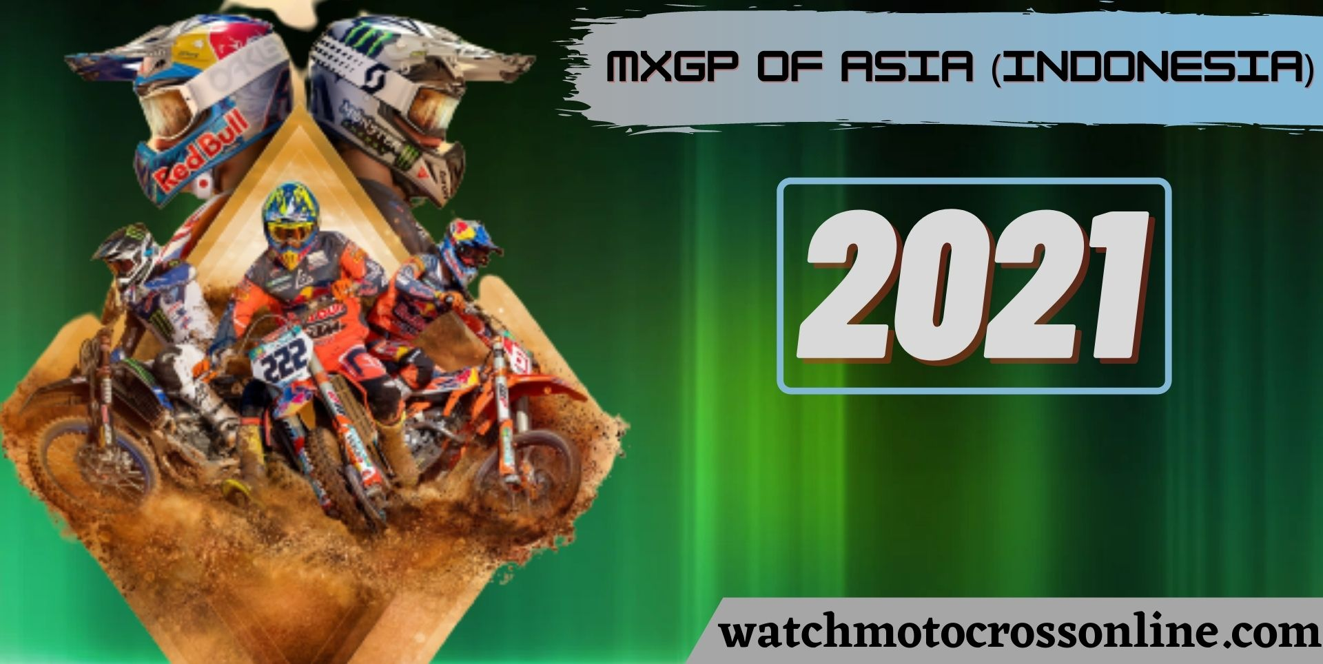 MXGP Of ASIA (INDONESIA) Live Stream 2021