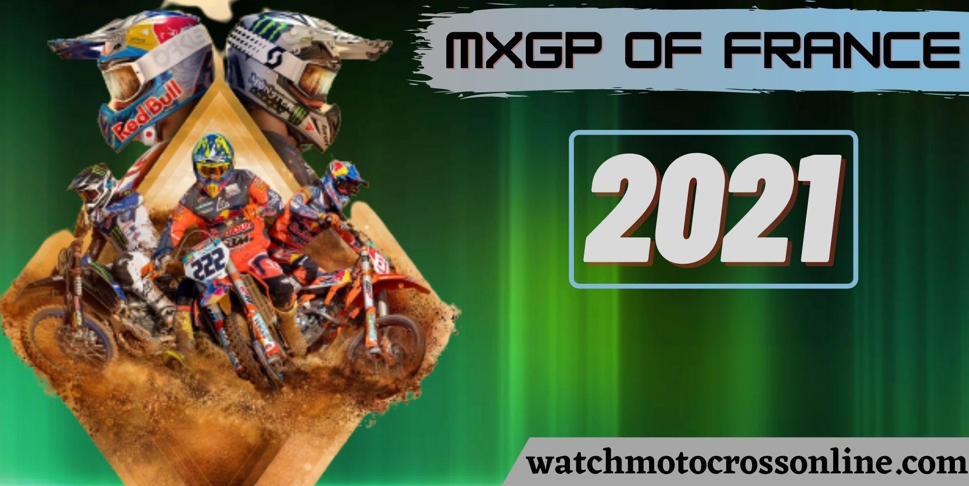 MXGP Of France Live Stream 2021
