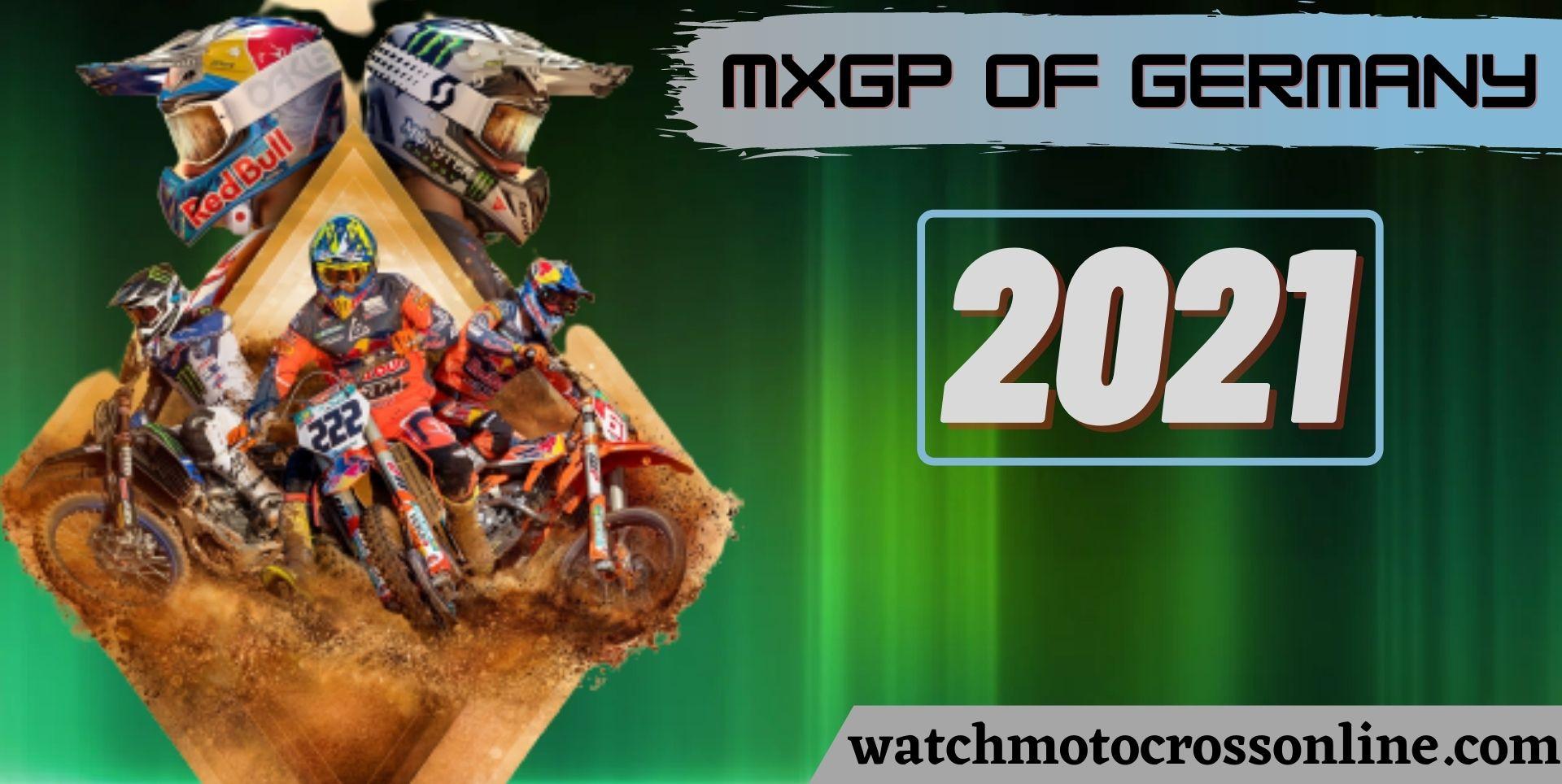 MXGP Of Germany Live Stream 2021