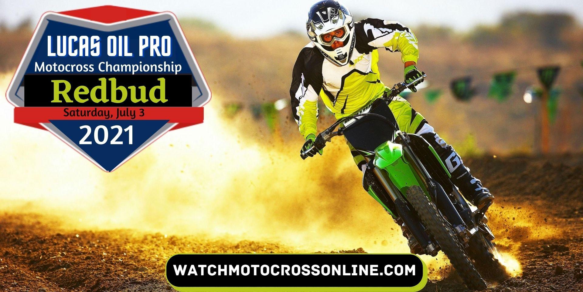 Redbud Motocross Live Stream 2021